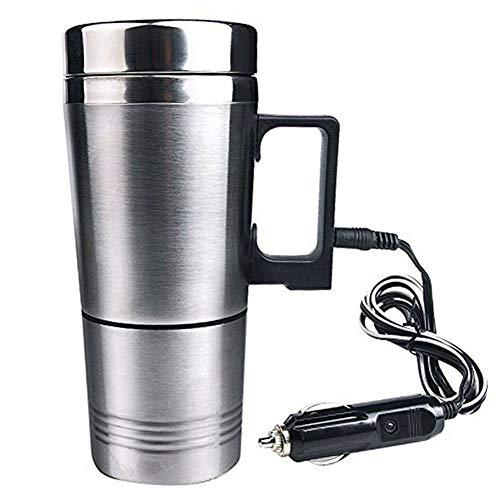 Preisvergleich Produktbild Alftek Wasserkocher Wasserkocher Auto Wasserkocher Beheizten Edelstahl Auto Zigarettenanzünder Heizung Cup