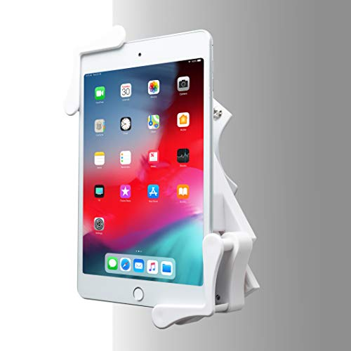 CTA Digital PAD-RWMW Rotating Wall Mount for 7-14 Inch Tablets (White) -