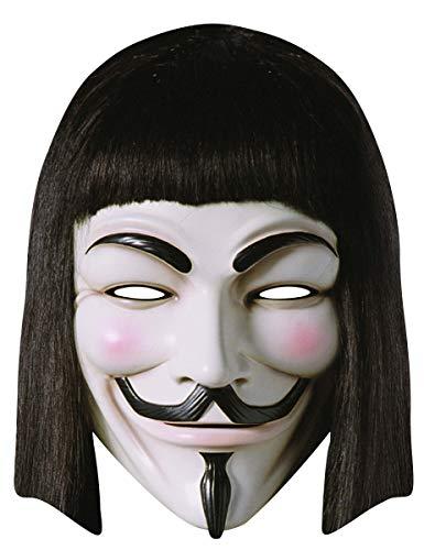 Rubies - 334853  für Vendetta Card Maske , weiß