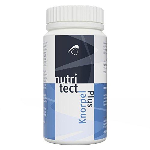 nutritect KnorpelPlus - Förderung deines Knorpelaufbaus und der Regeneration deiner Gelenke | Mit Glucosamin und Vitamin E | Hergestellt in Bayern