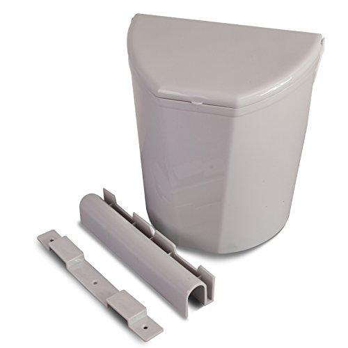 Siehe Beschreibung Universal vielseitig montierbarer Mülleimer für Camping, Wohnwagen, Auto etc, inklusive Befestigungsmaterial • Campingküche Abfalleimer Zelt Küche Schrank Eimer Einbau Müllbehälter