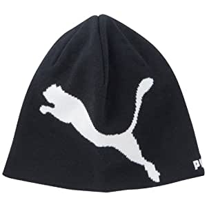 PUMA Kinder Big Cat Beanie, black-white, One size, 842941 01