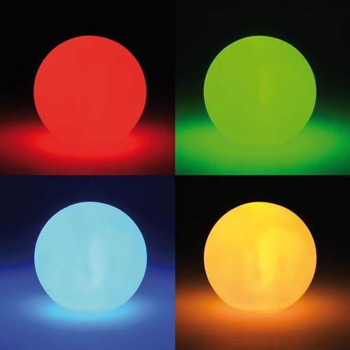 � 8 cm, mit Farbwechsel - Effektkugel Stimmungskugel Lichtkugel Deko (Schulbedarf Billig)