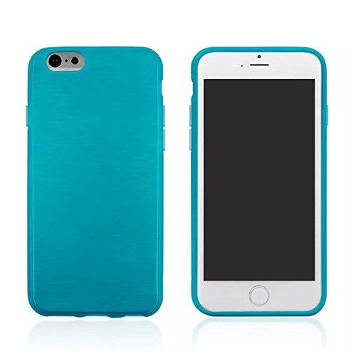 "Monkey cases ® iPhone 6 ""brushed coque en tPU pour iPhone 6-coque silicone-bleu d'origine neuf sous emballage d'origine-bleu"