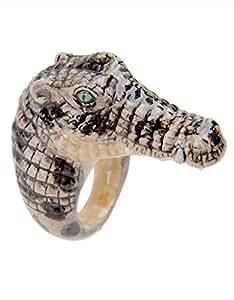 Bague Crocodile en Porcelaine