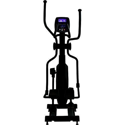 MAXXUS® Ellipsentrainer 8.4 – Crosstrainer – Ellipsentrainer mit Stromgenerator – Magnetwiderstandssystem. 58cm Schrittlänge. Crosstrainer in Top-Qualität mit Frontantrieb. Gelenkschonende, flache und elliptische Bewegung. 150kg Benutzergewicht, Trainingsprogramme, Pulsempfänger für Polar® Pulsgurt. - 5