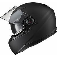 Agrius Rage SV Solid Motorcycle Helmet M Matt Black