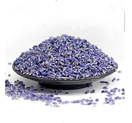 Nmlyz Natürliche Lavendel Trockenblumen Samen Getrocknete Blumen-Korn-Groß Lavendel Getrocknete Kornfüllung 1 Unze Reale natürliche dauerhafte Lavend