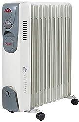 Öl Radiator 11 Rippen | Radiator Heizung | Elektroheizung | Heizkörper | Heater | Öl-Radiator | Ölradiator | Heizgerät | Paneelheizkörper | elektrische Mini Heizung | Überhitzungsschutz | 2.500 Watt