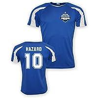 UKSoccershop Eden Hazard Chelsea Sports Training Jersey (Blue) - Kids