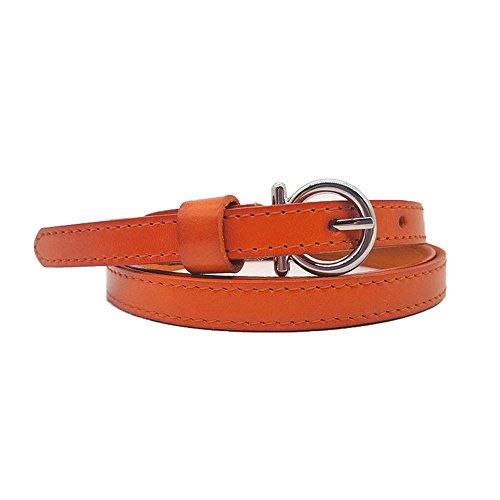 Yishishi design della moda da donna cintura in pelle di vacchetta con cinturino in pelle da donna con cinturino per decorazione gonna adatta a tutte le stagioni e luoghi cintura da giacca a vita alta