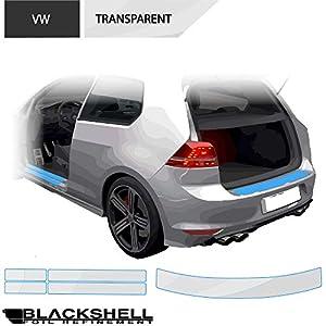 8teilig Einstiegsleisten T/üreinstiege Einstiege passend f/ür Modell Siehe Beschreibung 150/µm transparent Lackschutzshop