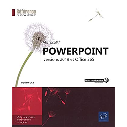 PowerPoint - versions 2019 et Office 365