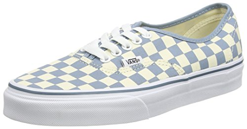 Vans Authentic, Sneakers Basses Mixte Adulte Multicolore (Checkerboard/Classic White/Citadel)