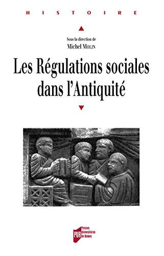Les régulations sociales dans l'Antiquité (Histoire)