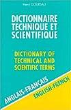 Dictionnaire Technique et Scientifique, 80 000 traductions (anglais/français)-