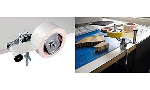 Tesa 06009-00000-00 Tischabroller 6009 für Verpackungsklebeband