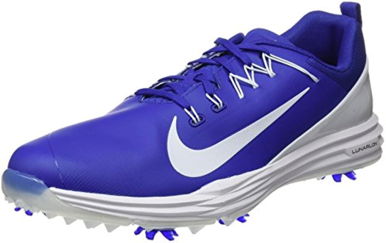 Nike Lunar Command 2 Zapatillas Deportivas de Golf, Hombre, Azul, 42.5