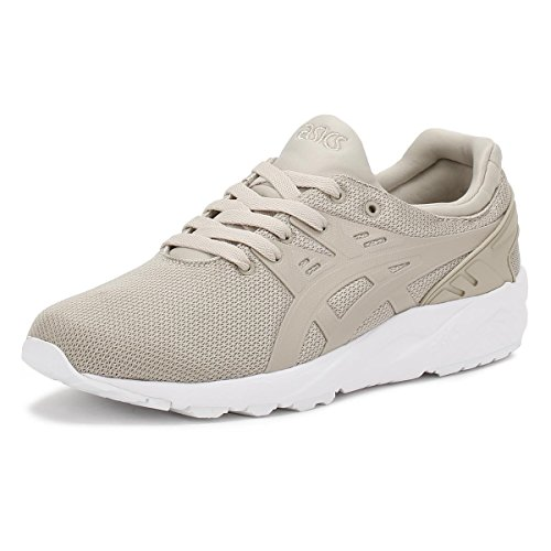 Asics Gel-Kayano Trainer Evo, Chaussures de Tennis Homme, Bianco Gris (Feather Grey/feather Grey)
