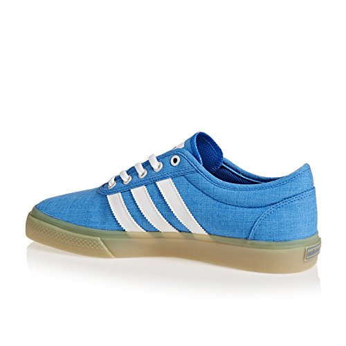 adidas Adiease, Chaussures de Skateboard Mixte Adulte Multicolore (Bluebird/ftwr White/gum 3)