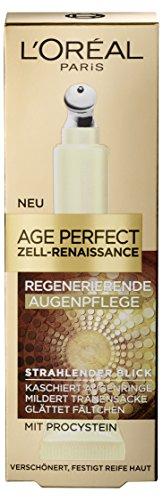L'Oreal Paris Age Perfect Zell Renaissance Augenpflege gegen Augenringe und Tränensäcke, 15 ml