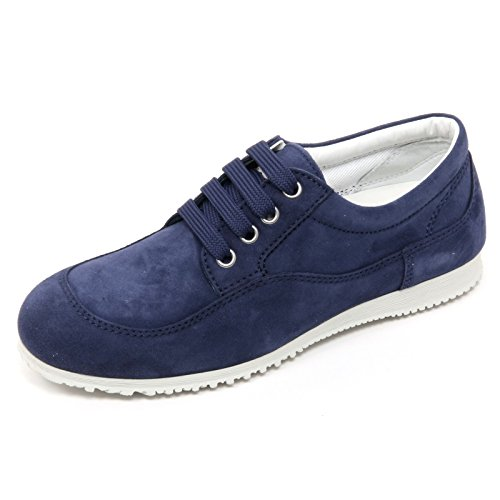 B7558 scarpa classica donna hogan h258 traditional scarpe blu chiaro shoe woman [35]