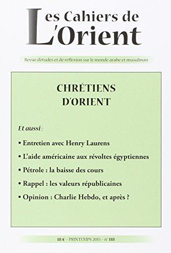 Cahiers de l'orient n118