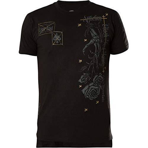 Affliction T-Shirt Tornado Souls Schwarz, M - Affliction T-shirts