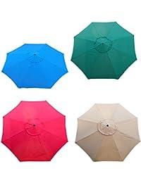 Nuevo Mercado Patio paraguas de repuesto toldo lona 13 Ft