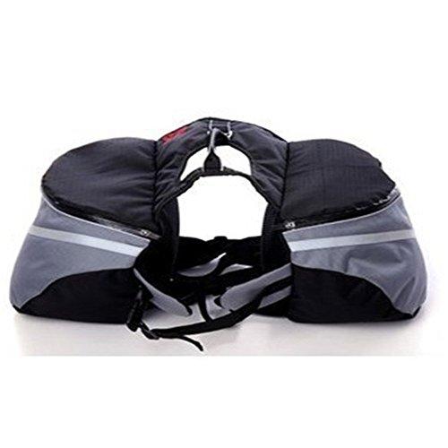 Creny Outdoor Hound Hunderucksack Sattel Tasche Rucksack Für Camping Wandern Training