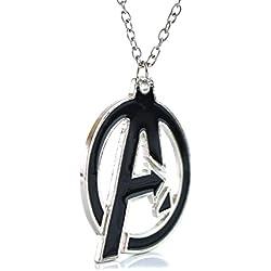 Marvel-Lámpara de techo-Los Vengadores logo-Super Hero de Cosplay-Collar Mark Collar a caja de regalo incluido
