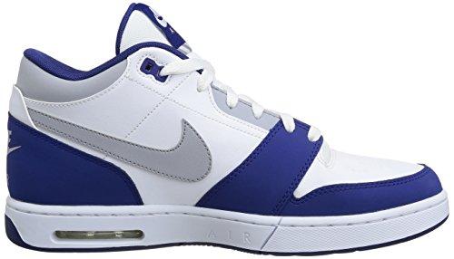 Nike 654476 146 Air Stepback Herren Sportschuhe - Basketball Mehrfarbig (WHITE/DP RYL BL-PHT BL-MGNT GR)