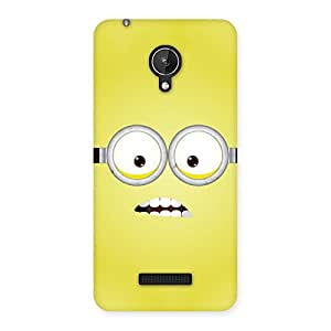 Yellows Fun Back Case Cover for Micromax Canvas Spark Q380