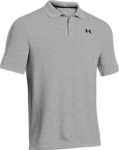 Under Armour Herren Poloshirt Performance Grau (True Gray Heather (025))