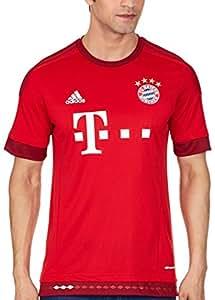 adidas Herren Spieler-Heimtrikot FC Bayern München Replica, FCB True Red/Craft Red F12, XS, S14294