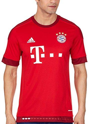 adidas Herren Spieler-Heimtrikot FC Bayern München Replica, FCB True Red/Craft Red, F12, XL, S14294