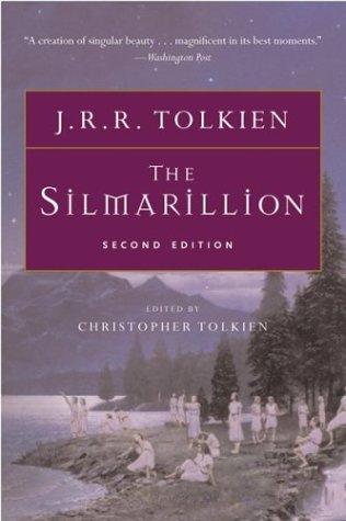 Book cover for The Silmarillion