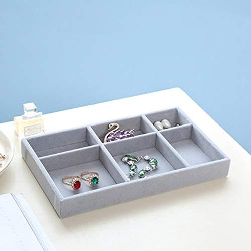 YOZOOE Transparente Desktop Schublade Art Kosmetik Aufbewahrungsbox Schmuck Ohrringe Ring stapelbar Schmuckschatulle (Style : T5) T5-desktop