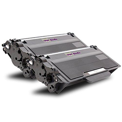Preisvergleich Produktbild Toner Twin Pack kompatibel zu BROTHER TN-3480 BK | 2x Schwarz / ca. 8000 Seiten | ersetzt Toner für Brother DCP-L 5500 6600 HL-L 5000 5100 5200 6250 6300 6400 MFC-L 5700 5750 6800 6900 DN DW D DNT DWT