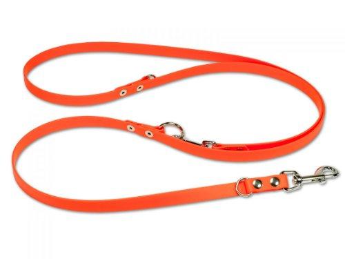 Mystique Biothane verstellbare Hundeleine orange Größe: 13 mm x 300 cm (Mario Schimmel)