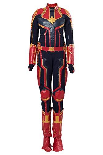 MingoTor Weiblicher Superheld Superhero Outfit Cosplay Kostüm Damen L