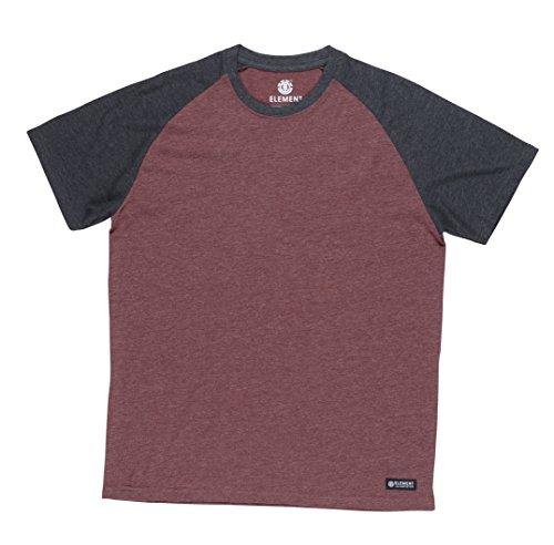 Element Herren T-Shirt Oxblood Heather