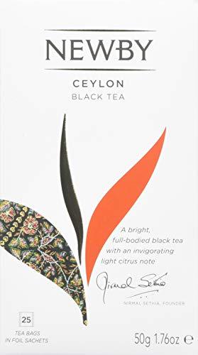 Newby Teas Ceylon Tea Bags, 25 Tea Bags