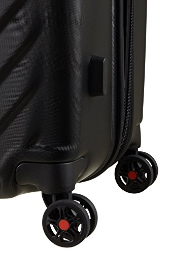 American Tourister - Air Force 1 Spinner 76/29 Extensible 96.5/111L - 4.1 KG, Noir (Galaxy Black)