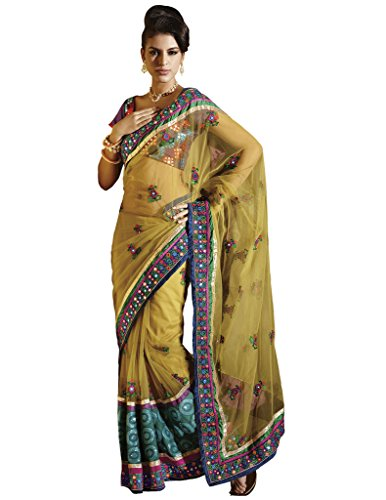 11018 - Designer Party Wear Saree  available at amazon for Rs.1275