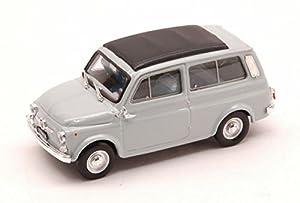 Brumm BM0425-08 Fiat 500 Jardinera 1960 Cerrada Gris Claro 1:43 Modelo