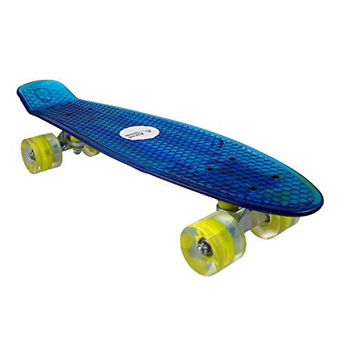 Airel Skateboard | Skateboard LED | LED - Räder Skateboard | WeSkate | Skate Caster Board | Skateboard Roller | Caster Board 4 Roller | CasterBoard LED | Skateboard Komplett