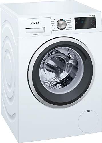 Siemens iQ500 WM14T6A2 Waschmaschine / 8,00 kg / A+++ / 137 kWh / 1.400 U/min / Dosierautomatik iDos / Nachlegefunktion…