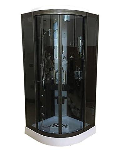 CABINE DE DOUCHE HYDROMASSANTE 90 x 90 cm SPA BAIN