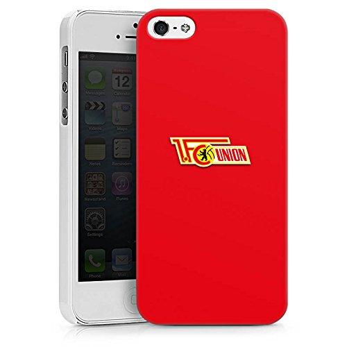 Apple iPhone X Silikon Hülle Case Schutzhülle 1. FC Union Berlin Fanartikel Fußball Hard Case weiß